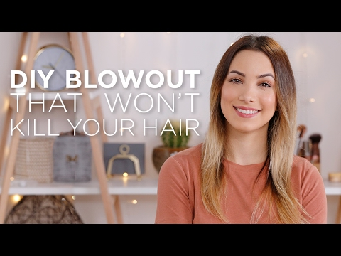 DIY Blowout That Won't Kill Your Hair