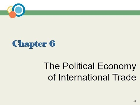 Chapter 6 The Political Economy of International Trade
