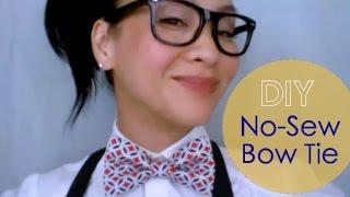 DIY No-Sew Bow Tie : {JEREMY} Bow Tie V.2