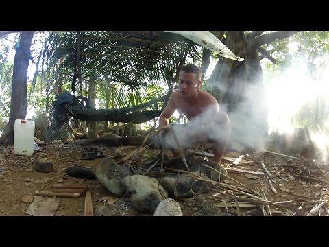 Deserted Island Solo Survival trip, Malaysia