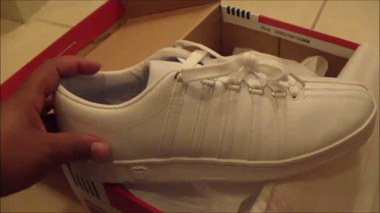 Shoe Review \u0026 Unboxing: K Swiss Classic