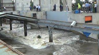 An Giang Xả Lũ Đập Trà Sư Hàng Ngàn người kéo đến xem/Flood discharge