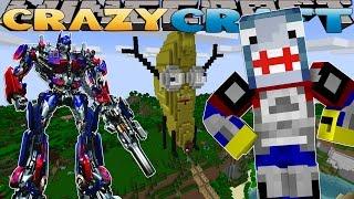 Minecraft CRAZY CRAFT -  INSIDE THE ATLANTIC CRAFT