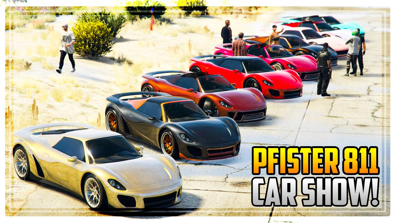 Gta 5 new pfister 811 car show best paint jobs customization ps4 youtube