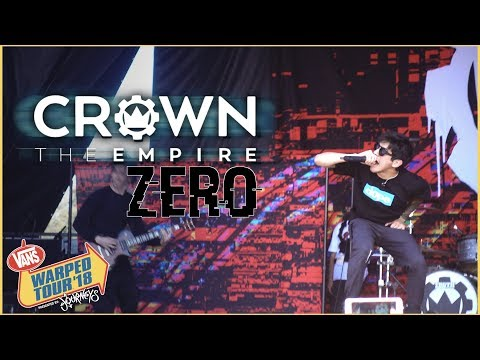 Crown The Empire - Zero (LIVE @ Warped Tour 2018)