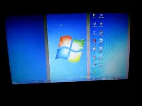 Layar Laptop Terbagi Dalam  Bagian