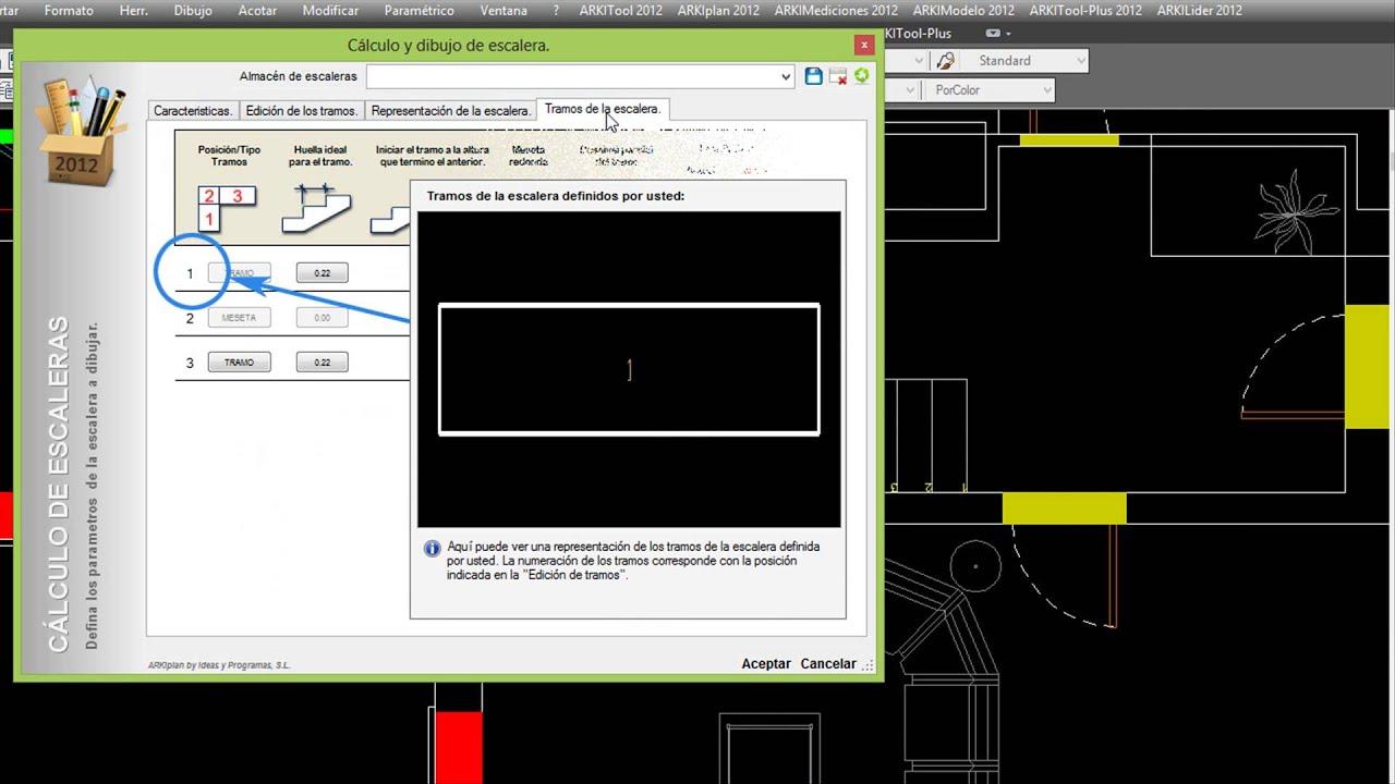 Arkimodelo aplicaci n cad para obtener sencillos 3d desde for Aplicacion para planos