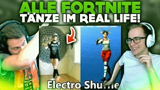 ALL FORTNITE DANCES in REAL LIFE 2018! 🕴 | WTF Videos