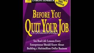 Before You Quit your Job by Robert Kiyosaki Audiobook