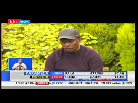 Incumbent governor William Kabogo offers goodwill and support to Ferdinard Waititu