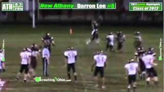 2013 Darron Lee - New Albany - Jr yr - ATH 2 - PROMO