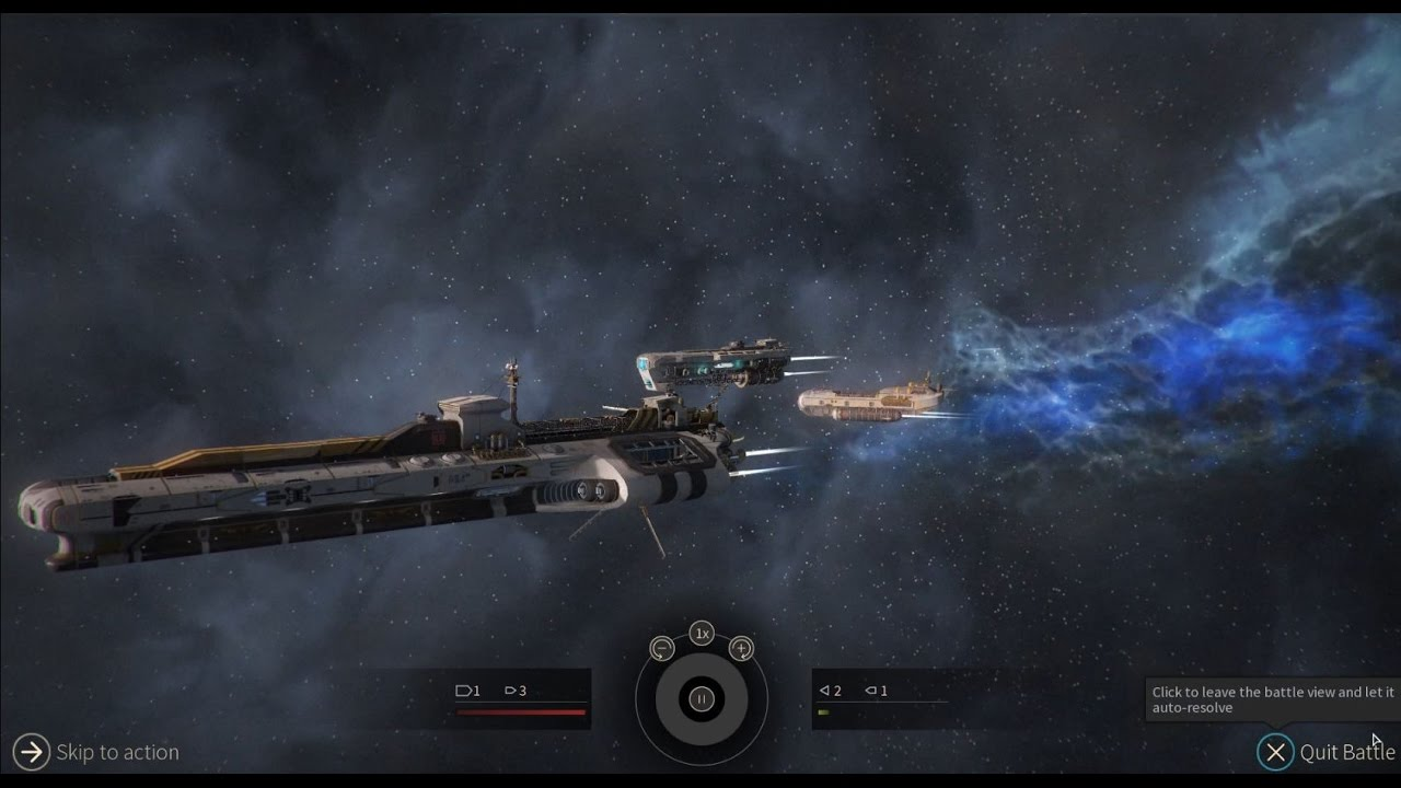 Endless Space 2 - Lumeris vs. Vodyani - Big Ships - YouTube