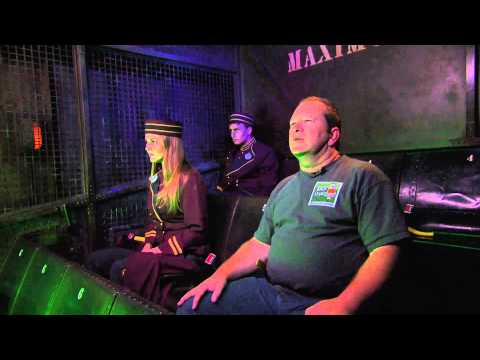 Tower of Terror Ride-Through with Bellhops and Tom Bell