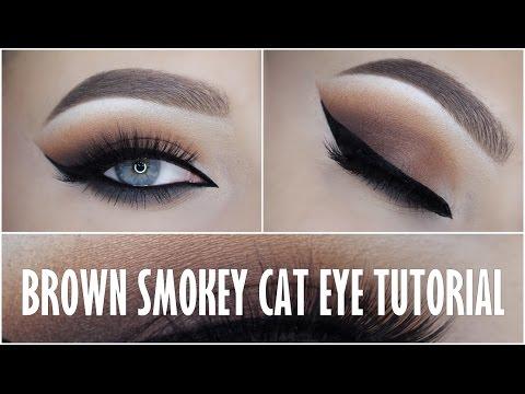 Matte Brown Smokey Cat Eye Tutorial!