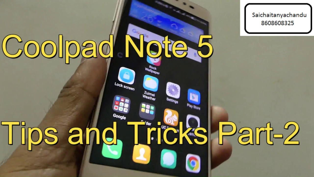 Coolpad note 5 Tips and tricks part-2💥💥💥