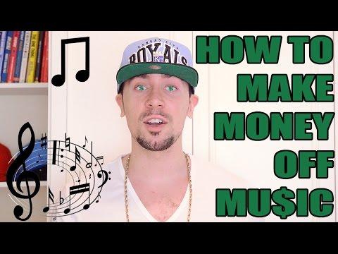 HOW TO MAKE MONEY OFF MUSIC [GetRichRapping COM]