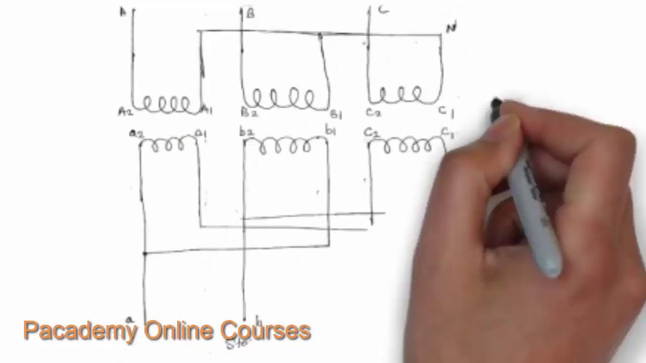 star delta connection for transformers # electric transformer lecture 9