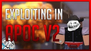 ROBLOX - EXPLOITING IN Apocalypse Rising 2 WITH RC7 - WITH Facecam!