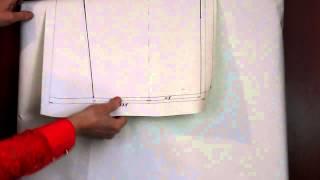 Брюки. Построение чертежа основной выкройки.