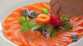 How to make Huon salmon sashimi with Masaaki