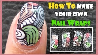 how to make your own nail wraps or nail art stickers create stamping version jq l image plate