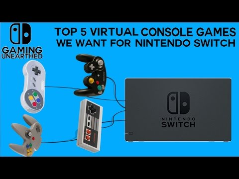 Top 5 Virtual Console Games We Want For Nintendo Switch