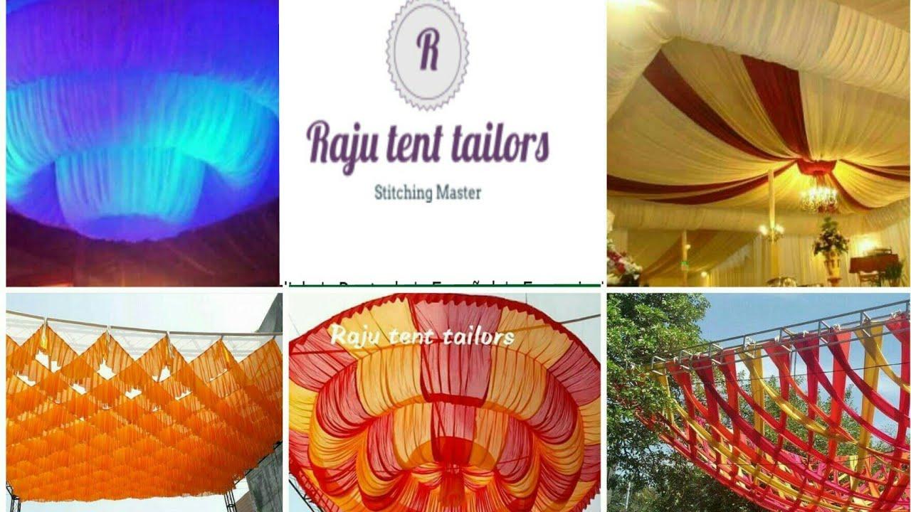 New Design Tent Decoration Cloth Rtt Youtube