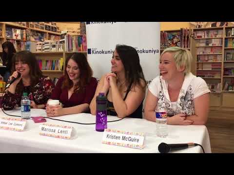 Voice Actor Q&A Part 5 Kinokuniya Anime Winterland