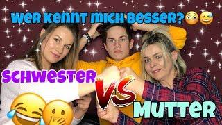 Schwester vs. Mutter😱 Wer kennt mich besser? 😳🤔- Itsofficialmarco