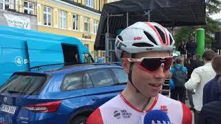 Rasmus Byriel forud for første etape i PostNord Danmark Rundt 2019