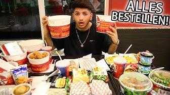 ALLES bestellen bei KFC!!! 😂| SKK