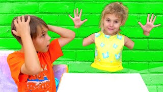 Five Kids Jump through the wall Song + more Children's Songs and Videos