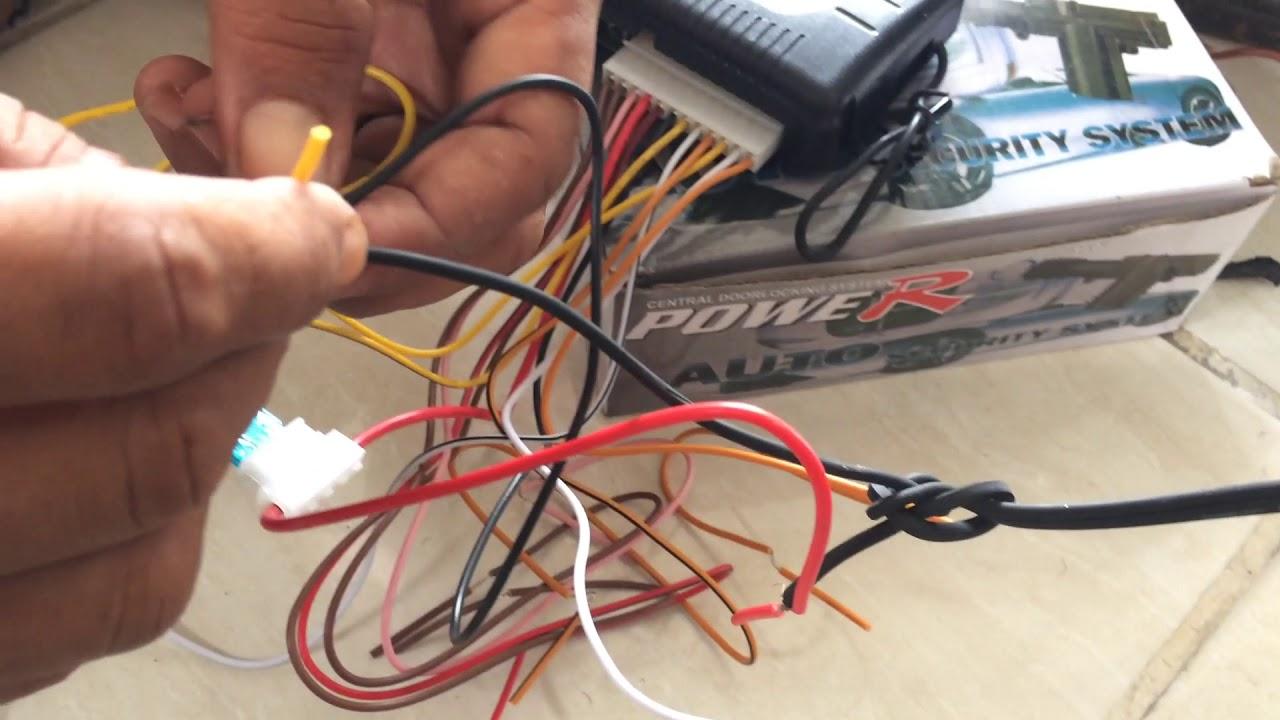 Pemasangan Alarm Mobil Diluar Instalasi Agar Mudah