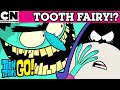 Teen Titans Go! | Meet the Tooth Fairy | Cartoon Network UK 🇬🇧