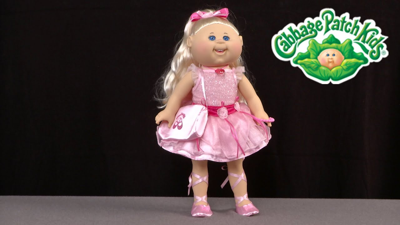 cabbage patch kids big kids sofia lorraine from wicked cool toys