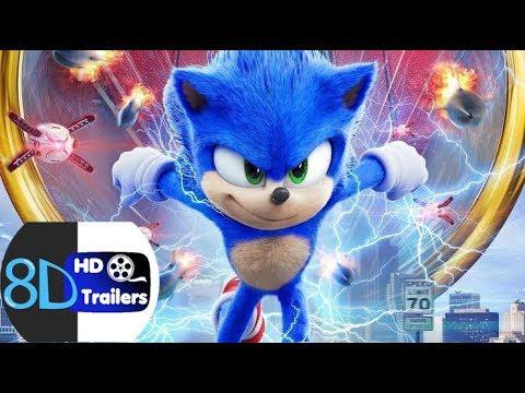 Sonic The Hedgehog International Trailer 1 2020 8d Trailers Use Headphones Youtube