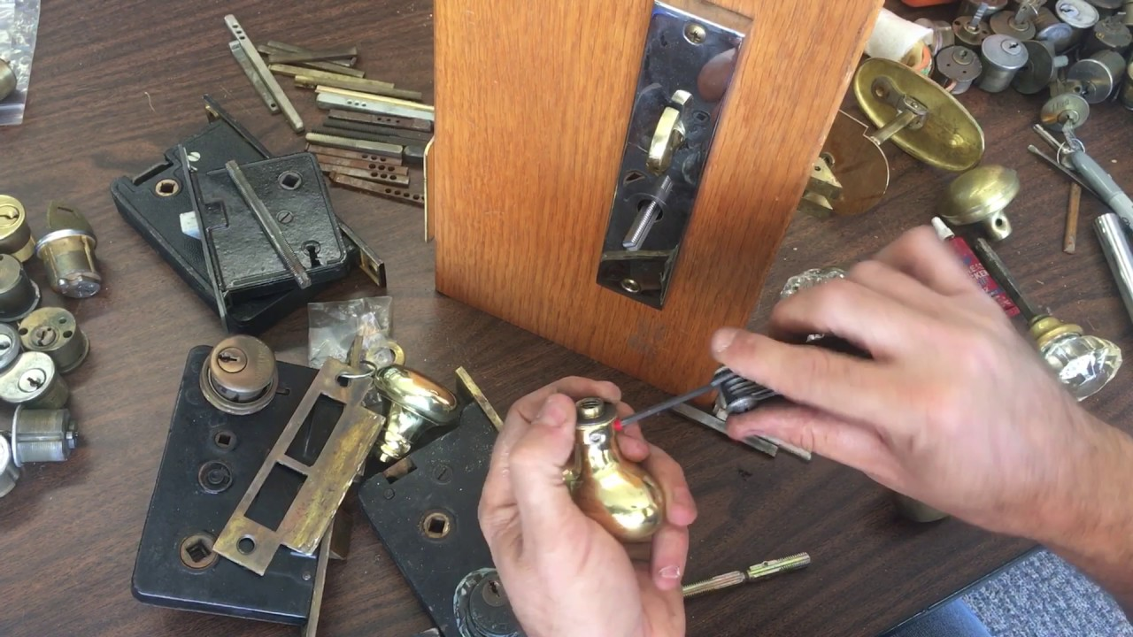 Ordinaire Antique Or Baldwin Mortise Lock, My Knob Came Off! [How To Fix!]