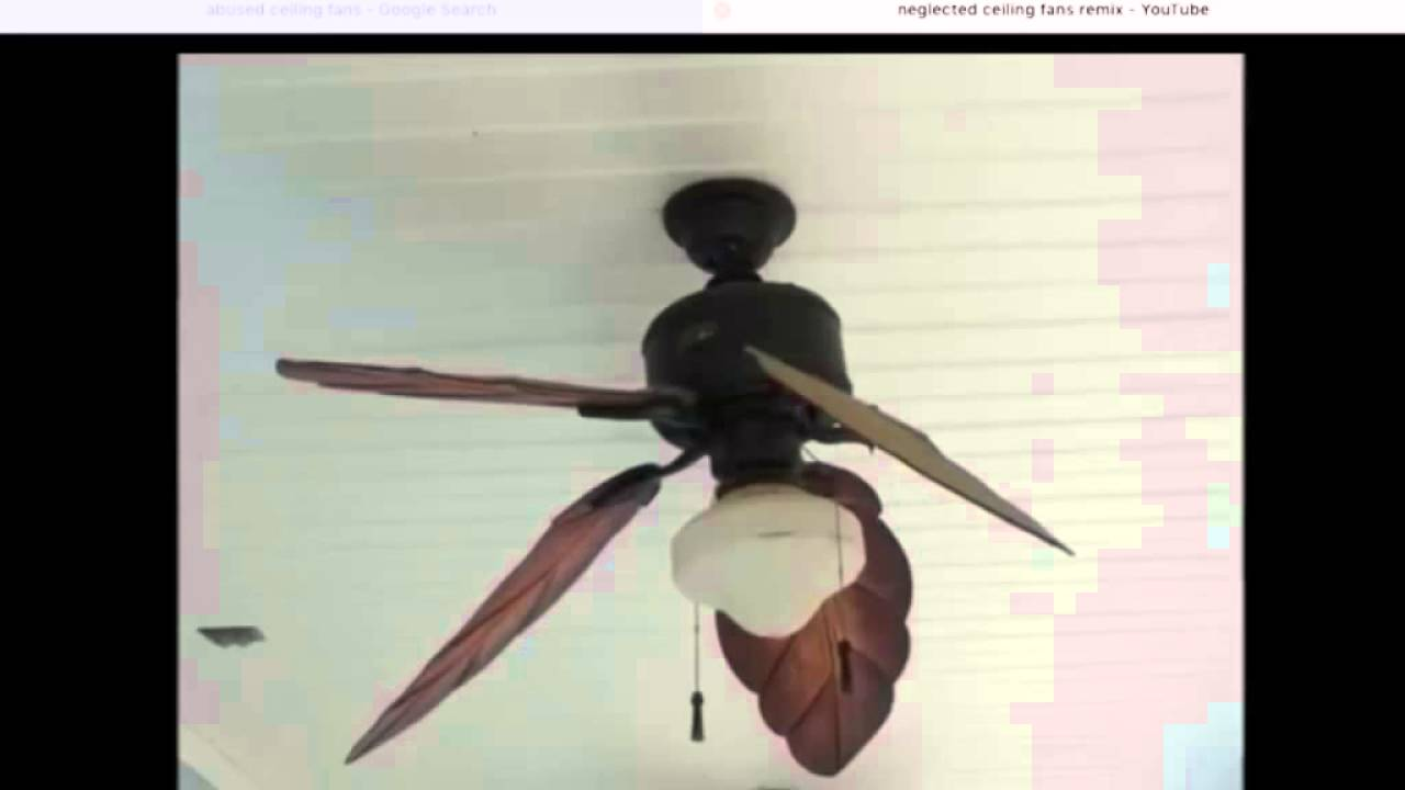 Broken ceiling fan slide show - YouTube