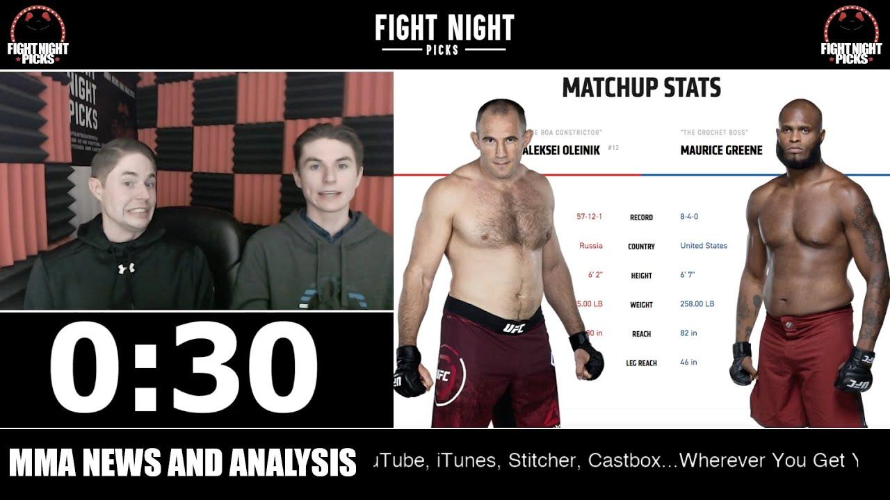 UFC 246: Aleksei Oleinik vs. Maurice Greene live play-by-play ...