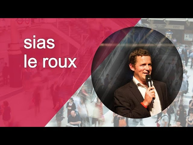 Convergence 2014 | What Are You Thirsty For? | Sias le Roux