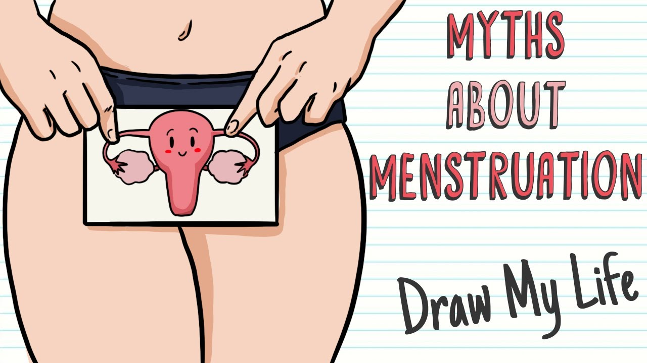 MYTHS ABOUT MENSTRUATION | Draw My Life