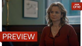Yvonne and Costley have a coffee - Apple Tree Yard: Episode 1 Preview - BBC One