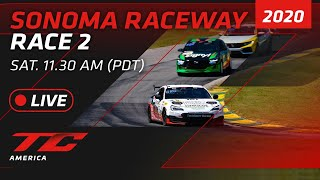 RACE 2 - SONOMA - TCR / TC / TCA 2020