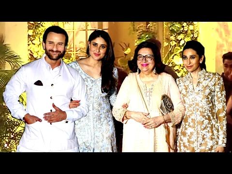 Randhir Kapoor's Birthday Party 2017 | Saif,Kareena,Karishma,Ranbir,Amitabh,Rekha