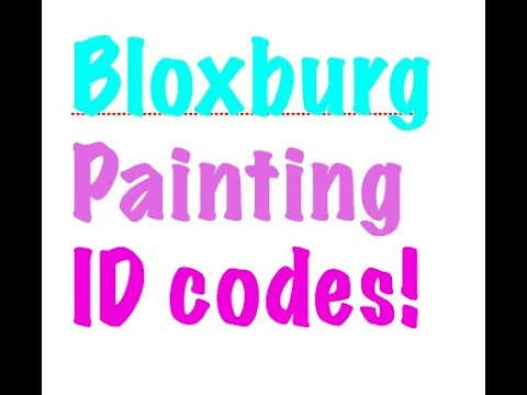 bloxburg roblox how to put a picture codes