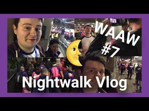 NAS London Nightwalk 2017! (Vlog)