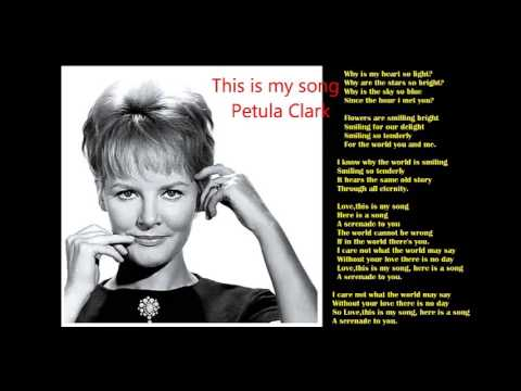 "Karaoke - Petula Clark - This Is My Song (Tema de ""A Condessa de Hong Kong)"