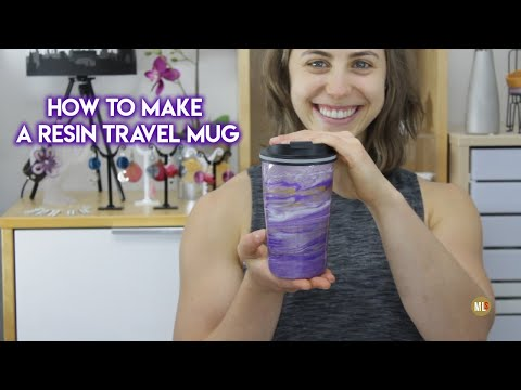 How to Make a Resin Travel Mug