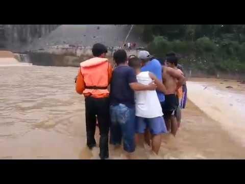 pencarian korban tenggelam bendungan sungai cijalu / selis kecamatan majenang 27 desember 2017
