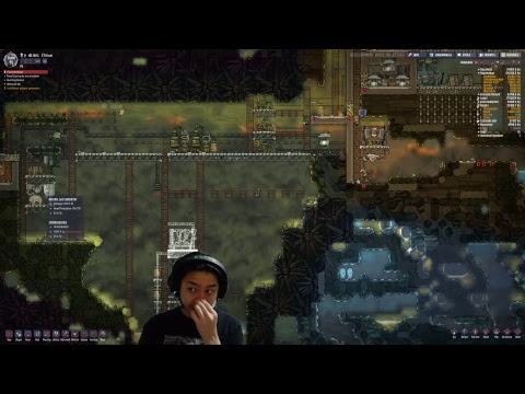 | Live Stream | Oxygen Not Included | With cool people | Natural Gas Geyser |